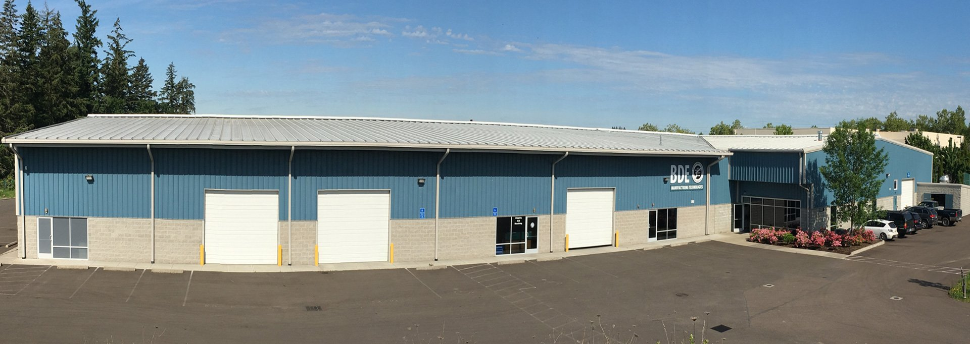 BDE Manufacturing Technologies CNC Machine Shop Outside View