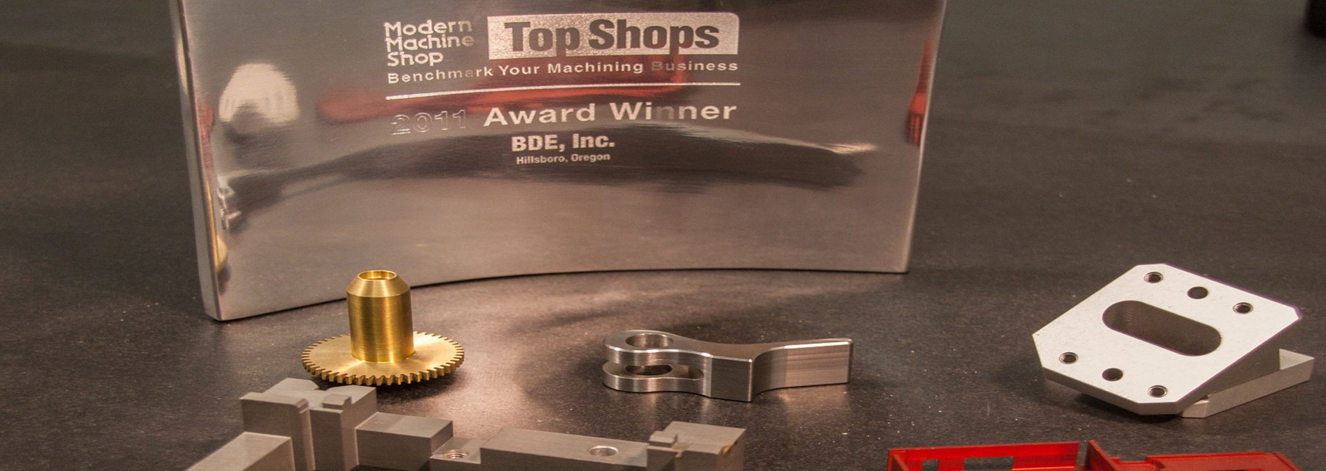 Top CNC Machine Shop Award for BDE Manufacture Technologies
